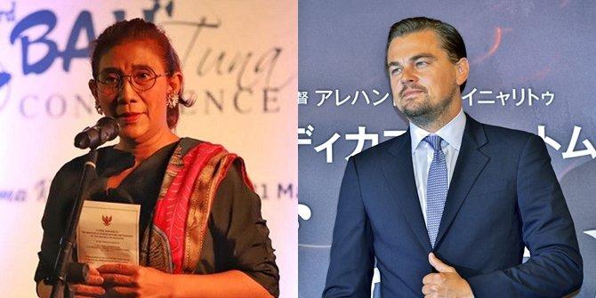 Leonardo DiCaprio Beri Pujian Bagi Menteri Susi Pujiastuti