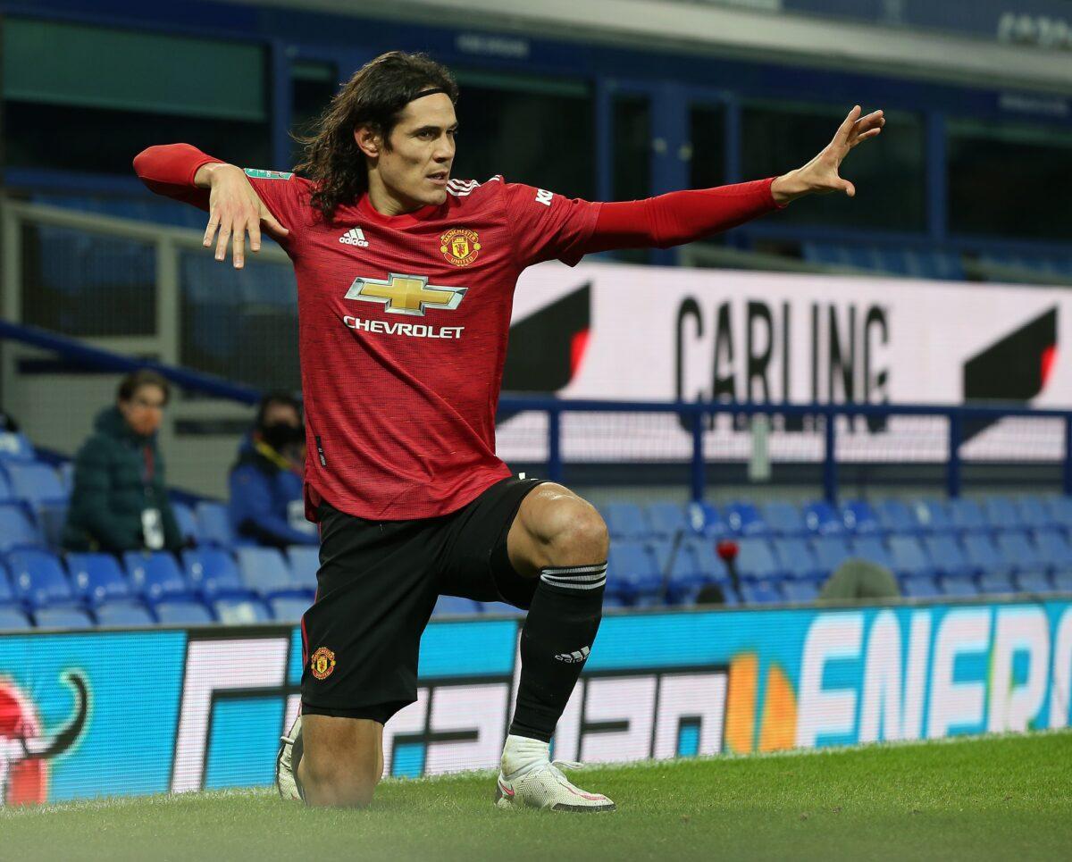 Tidak hanya mencetak gol adalah keuntungan dari Edinson Cavani di skuad Manchester United