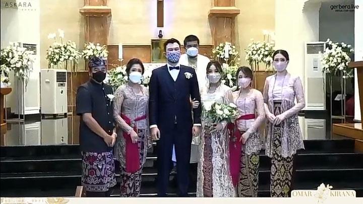 Dita Karang Pulang Diam-Diam Hadiri Pernikahan Sang Kakak